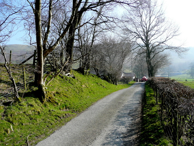 Lane to Rhiwsaeth