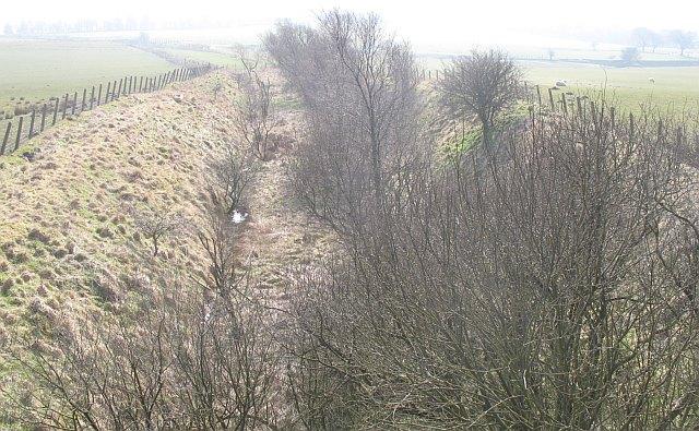 Disused railway, Salsburgh