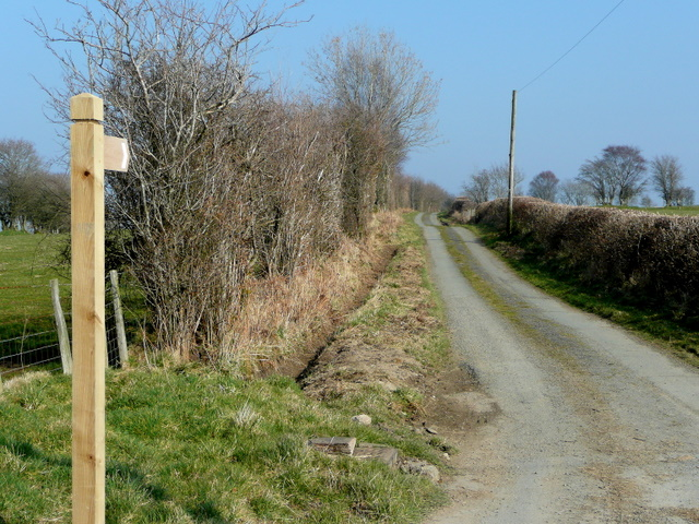 Farm road and byway