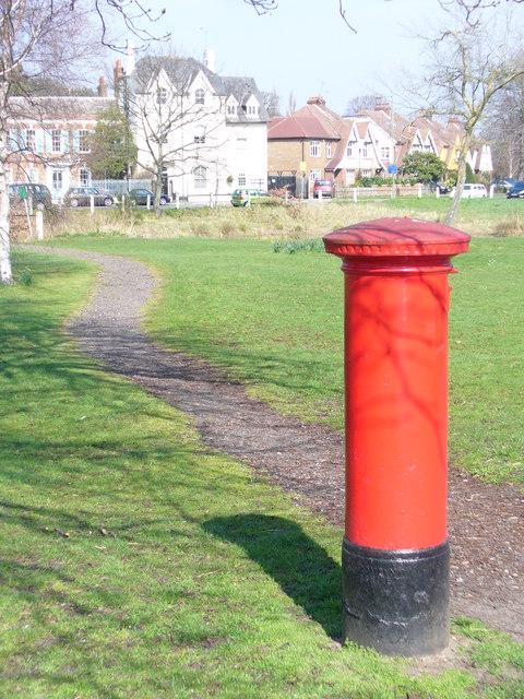 Weston Green Pillar Box