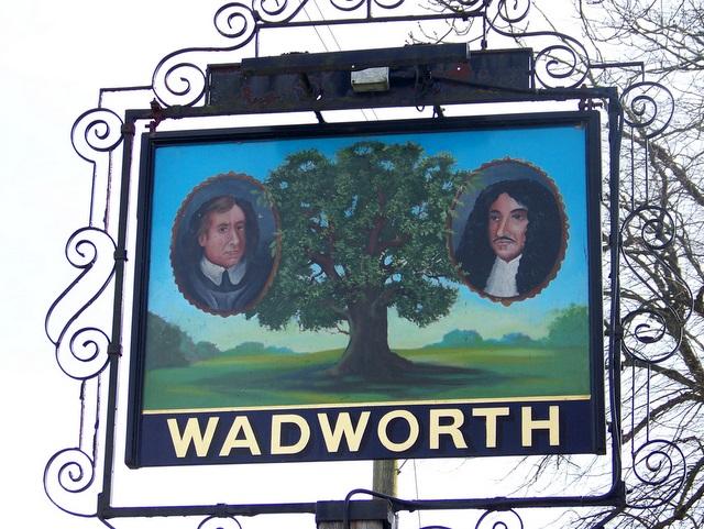 Sign for the Royal Oak, Corsley Heath