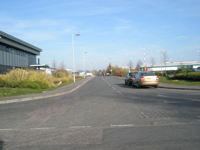 Looking eastwards along Penner Road