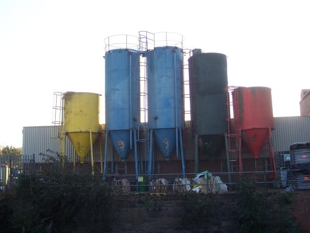 Multicoloured Silos