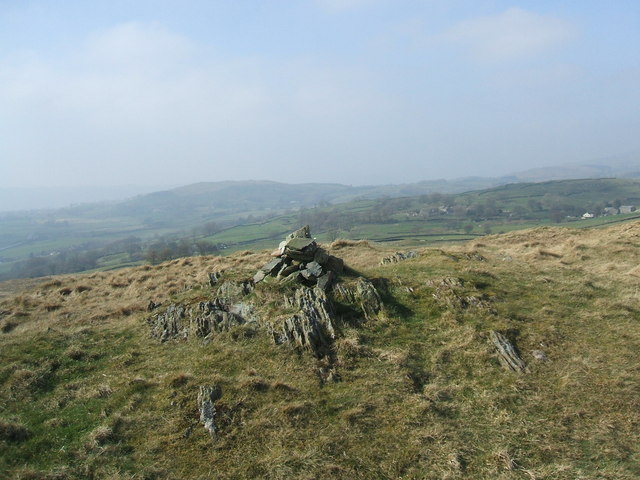 The top of Hugill Fell