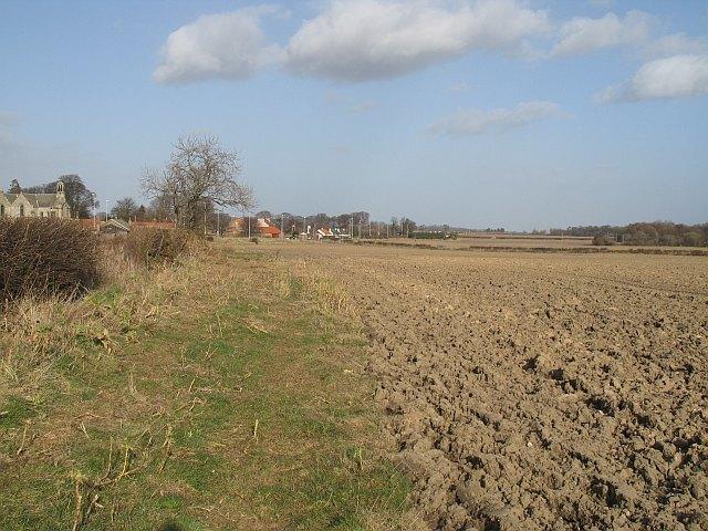 Ploughed field, Gladsmuir