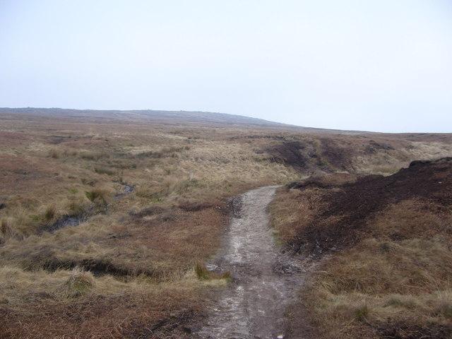 Pennine Way to South of Blackstone Edge