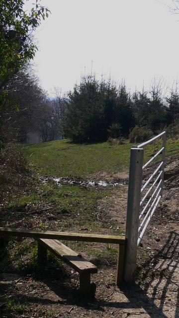 Footpath from Copyhold Lane to Old Glebe, Fernhurst