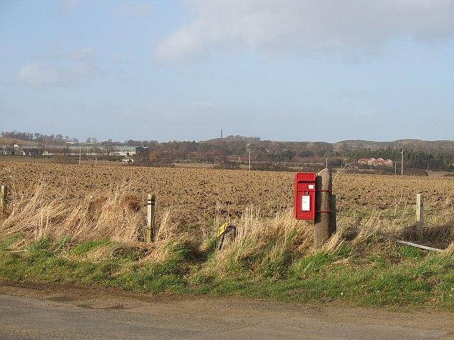 Post box, Letham Mains