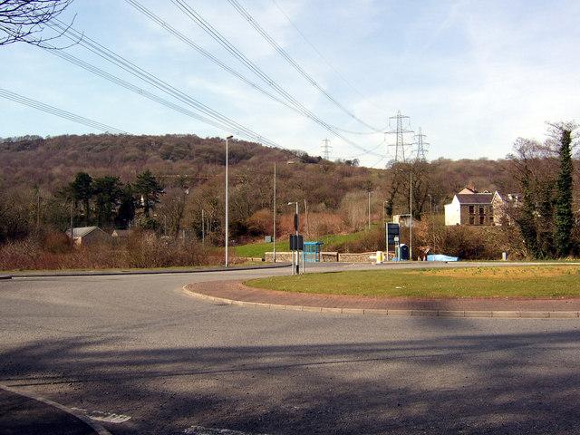 Ynysmeudwy / Cilmaengwyn roundabout