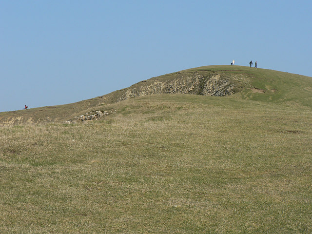 Hill above Trwyn y Witch, Dunraven.