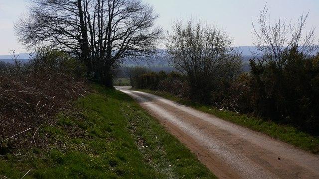 Minor road near Lodsworth