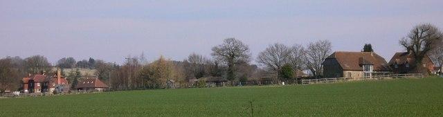 Buildings in South Lane, Tillington