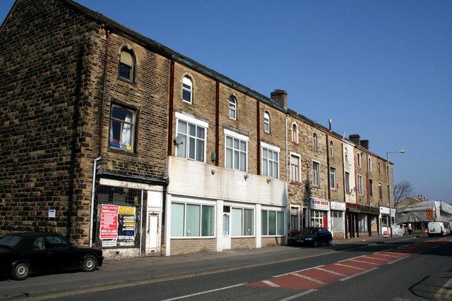 Shops, Leeds Road, Nelson, Lancashire