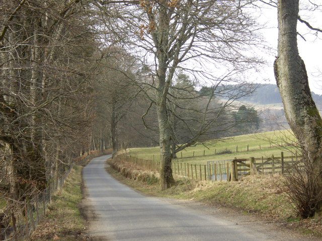 Road from Blairmore to Haugh of Glass