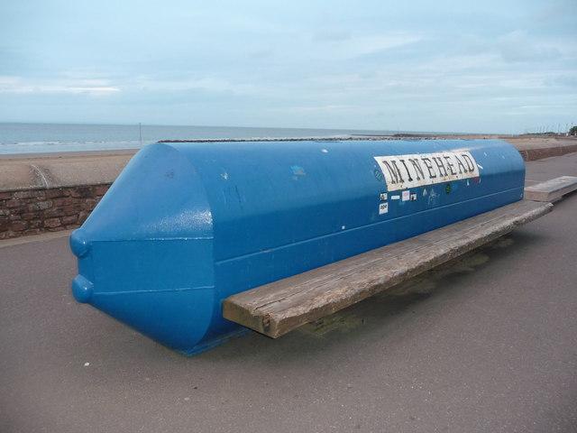 Minehead : Bench & Coastal Path
