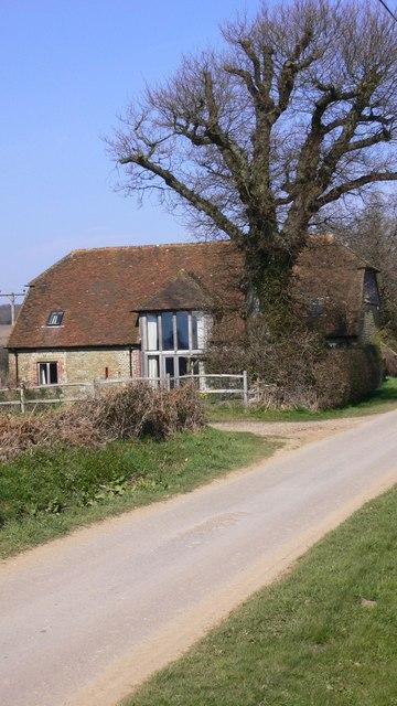 Barn conversion in South Lane, Tillington