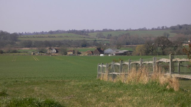 Grittenham Farm viewed from South Lane, Tillington