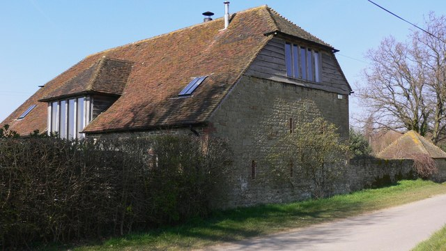 Barn conversion in South Lane, Tillington