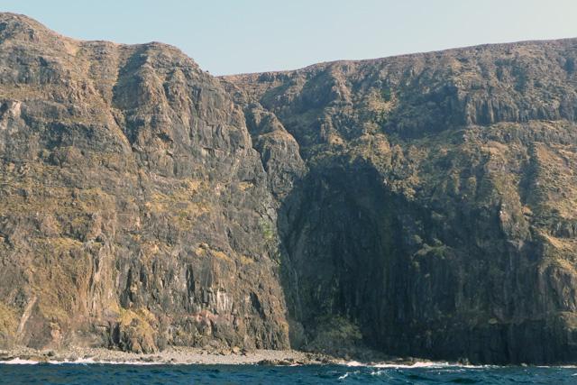 Shallow cave below Flossnan