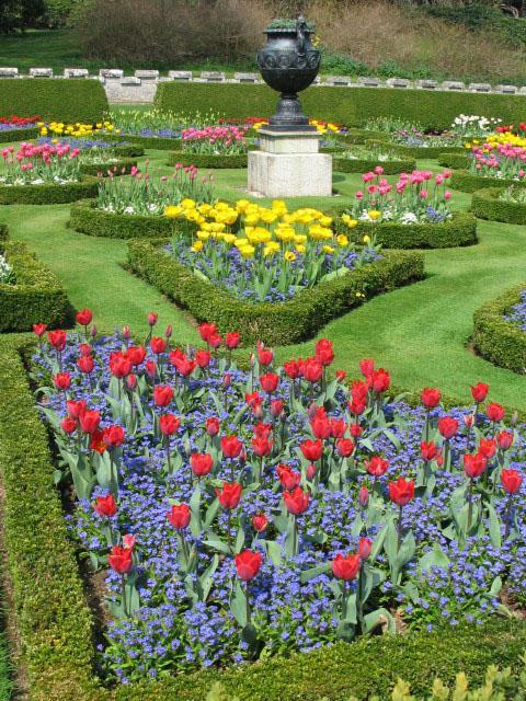 Formal Garden at Lanhydrock