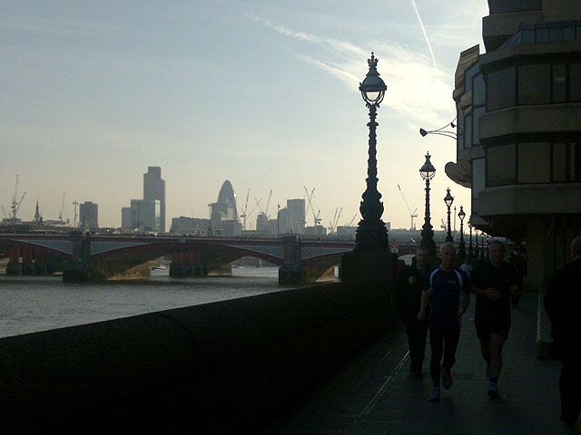 Blackfriars Bridges and The City