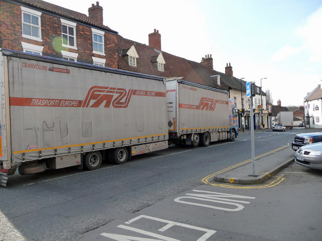 A1077 Traffic - Barton Market Place