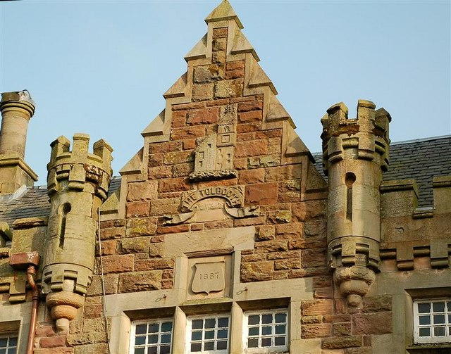 Maybole Town Hall Wall