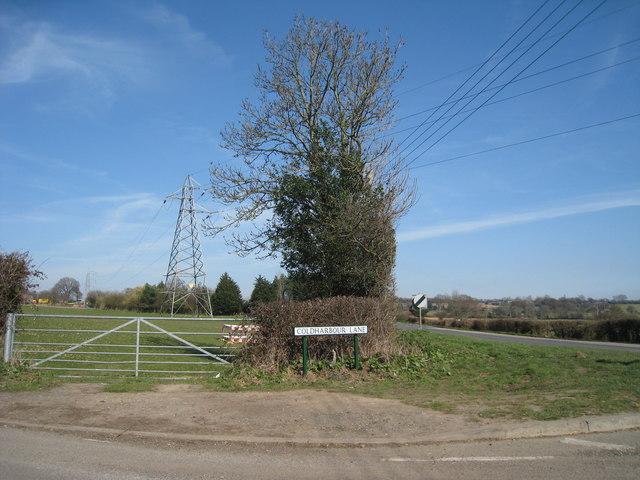 Pylon off Rye Road
