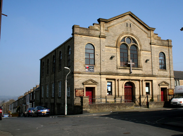 Baptist Church, Nelson, Lancashire