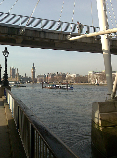 From Under Hungerford Bridge