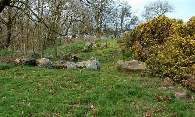 The Site Of Brockloch Castle