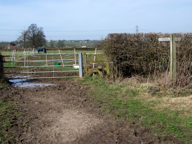 Footpath, Lower Grange Farm