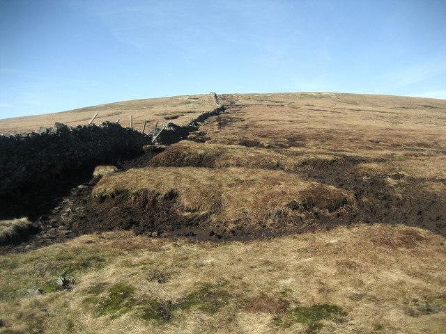 Ascending Buckden Pike