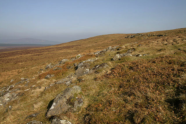 Hill countryside on Larriston Fells