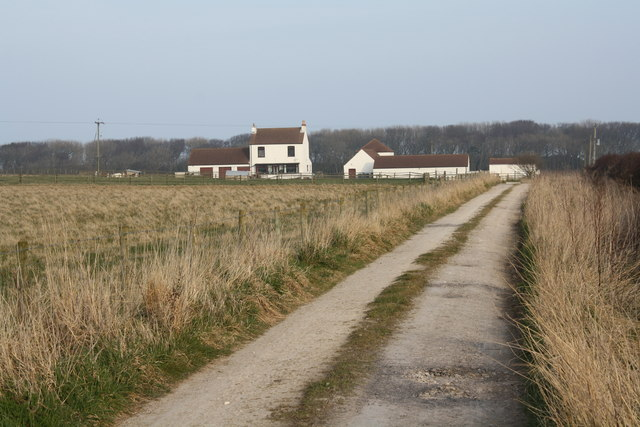 Track  to Metlands farm