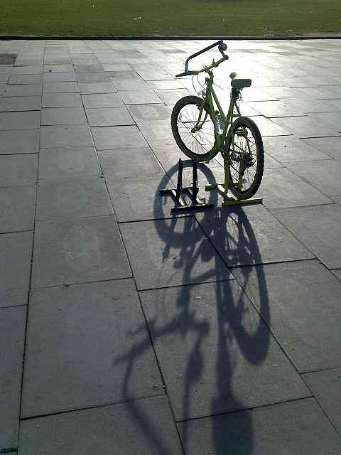 Bike Near the London Eye