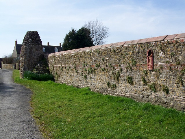 Wall, Feltham Farm