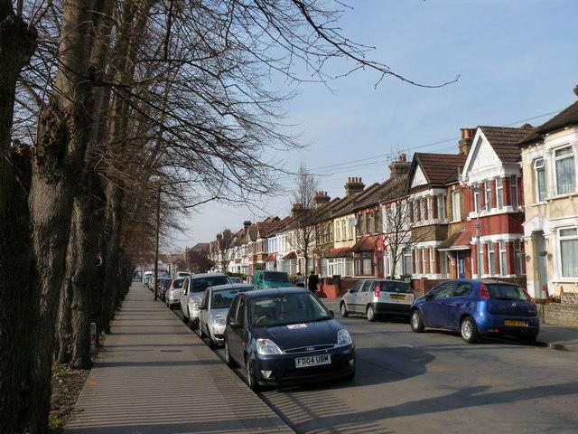 Street Scene in Thornton Heath