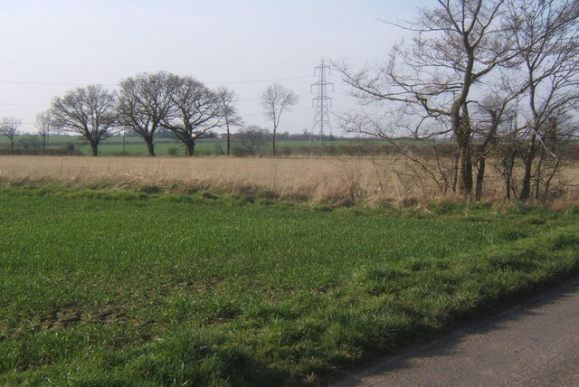 Fields by Clockhouse Lane