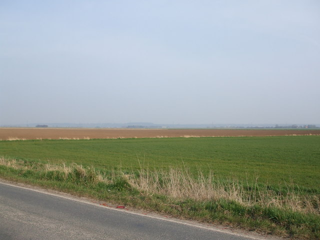 Fields towards Garthorpe