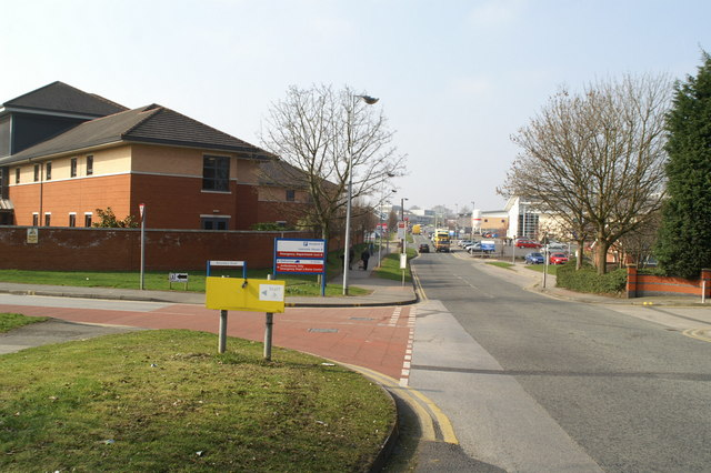 Southmoor Road - access to Wythenshawe Hospital