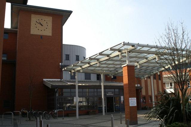 Wythenshawe Hospital - main entrance