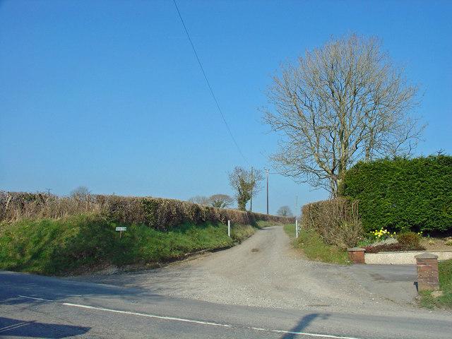 Track to Hafod Farm, Meidrim