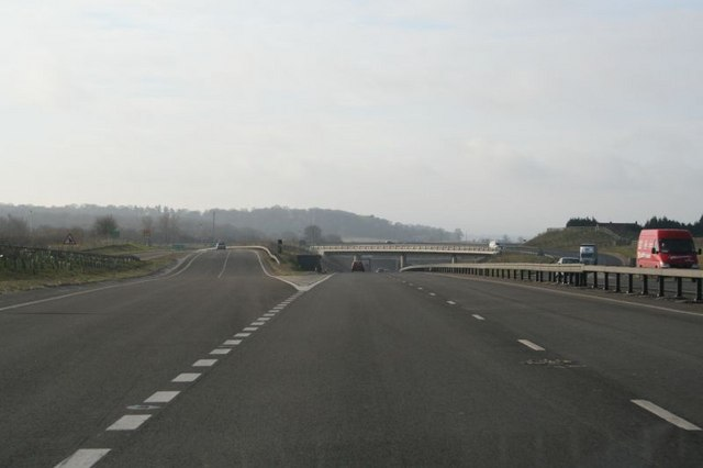 Slip road  off the A34