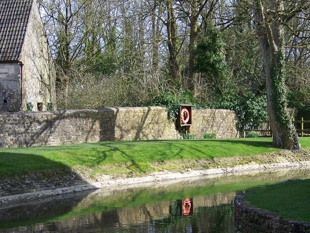 Moat, Nunney Castle