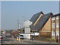 TQ4077 : Sunfields Methodist church - nearly complete by Stephen Craven