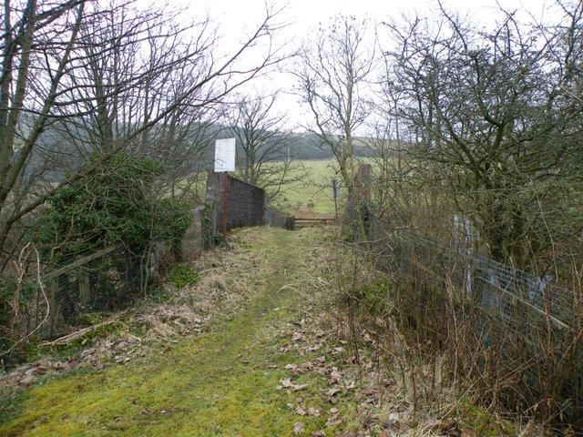 Spango Valley railway bridge
