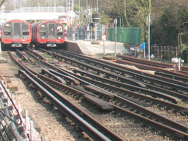 South end of Epping station