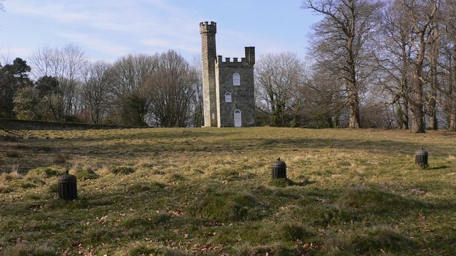 Tower in Petworth Park