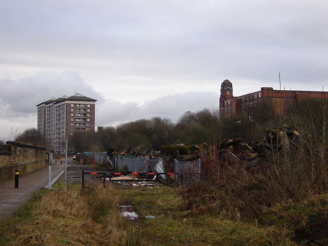 Croal Mill and residential flats